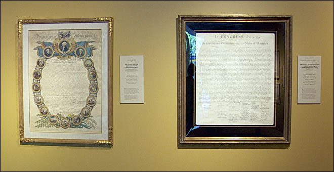 Rare copies of the Declaration of Independence on display in Portland