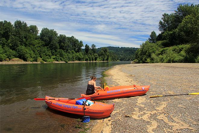 Willamette River: a mellow summertime float