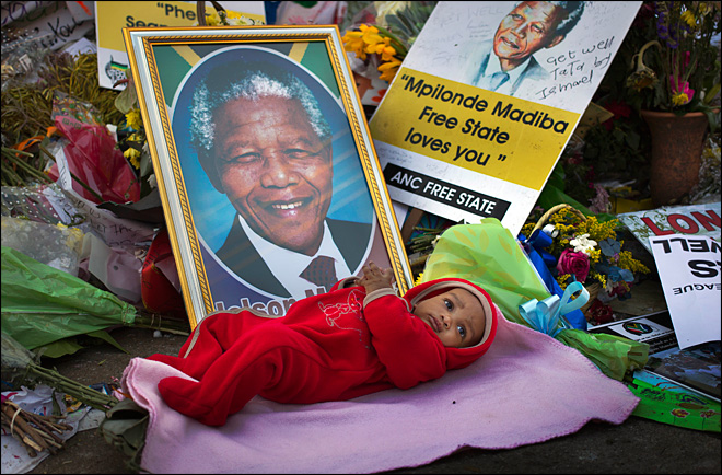 South African government denies Mandela is 'vegetative'