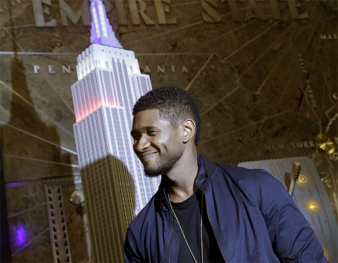 Usher irks 4th of July crowds by playing too much Usher