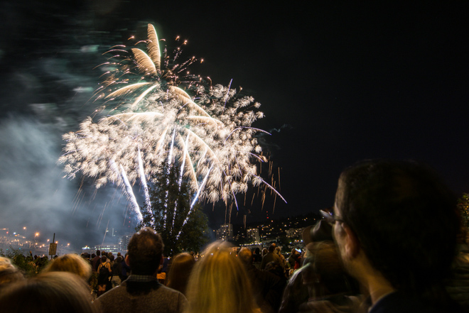 Where to watch pro fireworks shows in Oregon