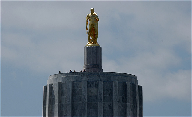 Oregon special session kicks off, then stalls