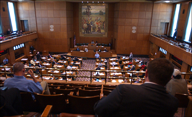 Oregon State Legislature Weekend Session