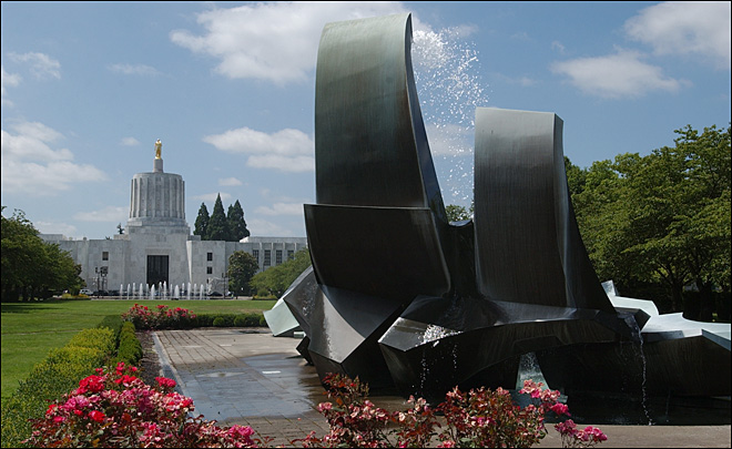 Oregon state Capitol turns 75 this year
