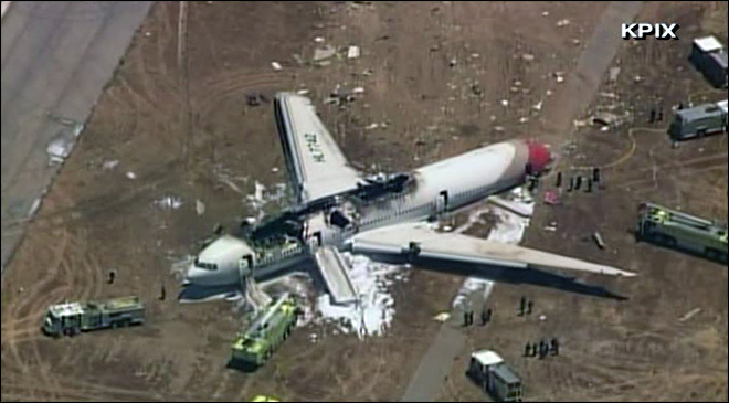 Boeing 777 crash