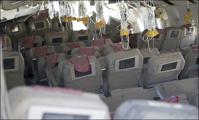 Could where you sit save your life in a plane crash?