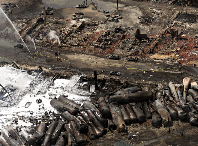 Canada Oil Train Derailment