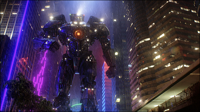 Review: 'Pacific Rim' knows how to make fun of itself