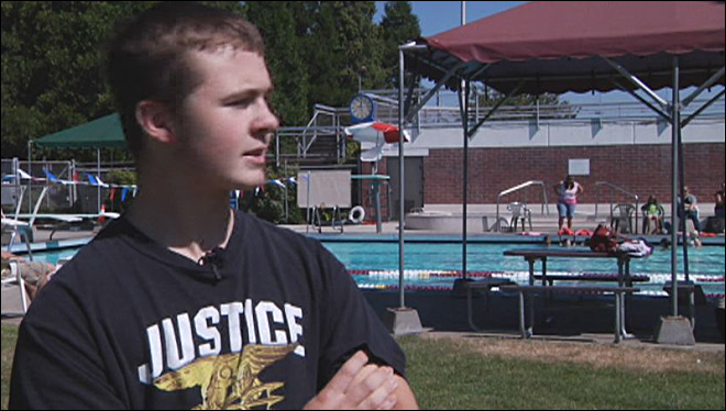Teen takes on Navy Seals training: 'My lungs were on fire'