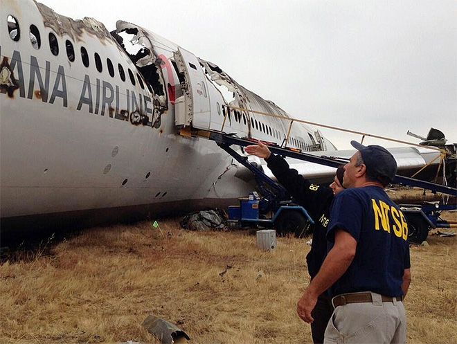APTOPIX San Francisco Airliner Crash