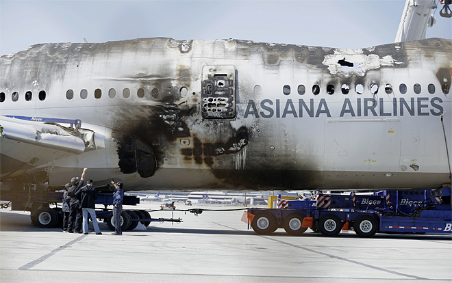 Law firms says it's suing Boeing over Asiana crash