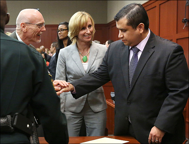 Jury finds George Zimmerman not guilty in fatal shooting