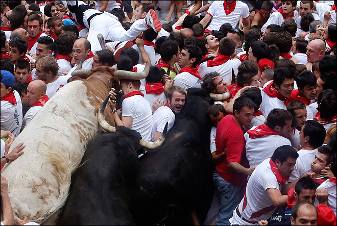 23 injured during stampede at Spanish bull run