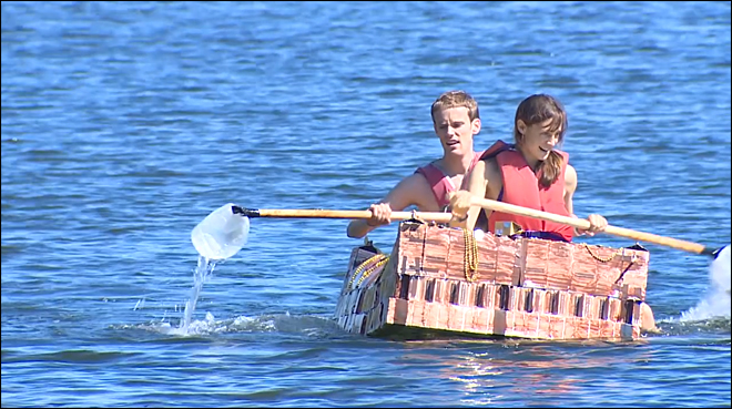 Teams race for glory at Milk Carton Derby