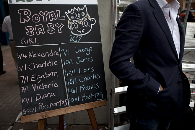 Britain Royal Baby