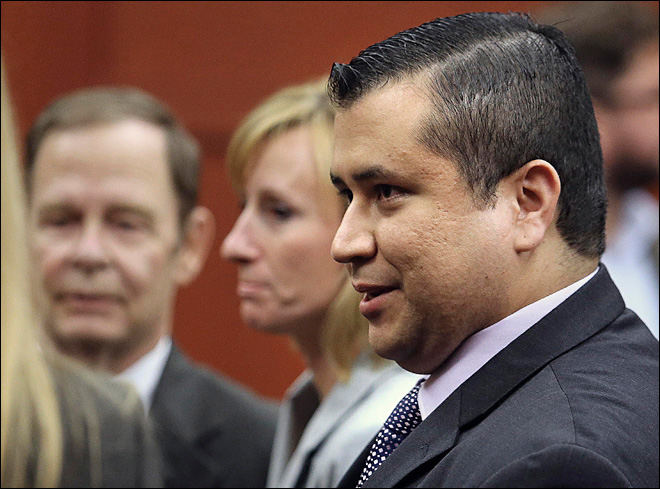 Zimmerman family: 'He'll be looking over his shoulder the rest of his life'