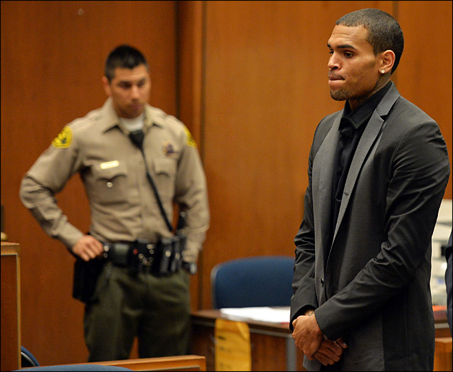 Chris Brown's probation revoked