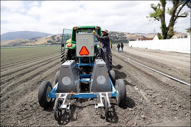 Robots to revolutionize farming, ease labor woes