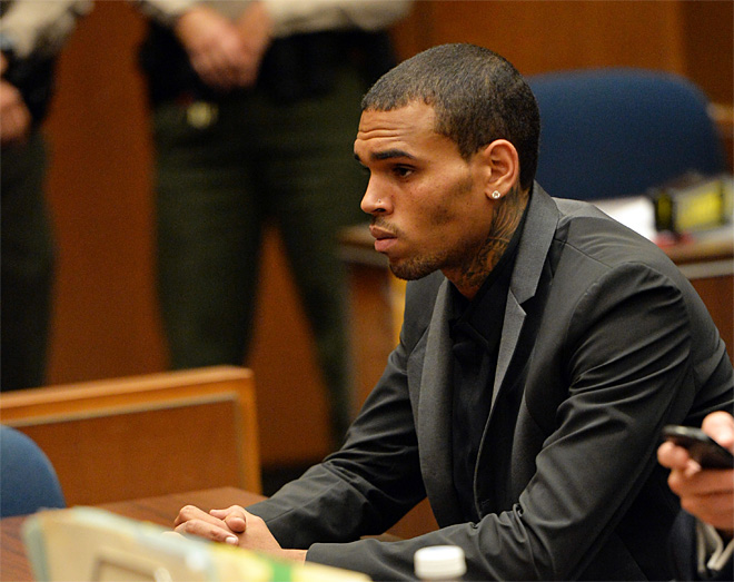 Singer Chris Brown sentenced to 1,000 hours labor