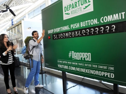 Airport travelers: Would you have the guts to play Departure Roulette?