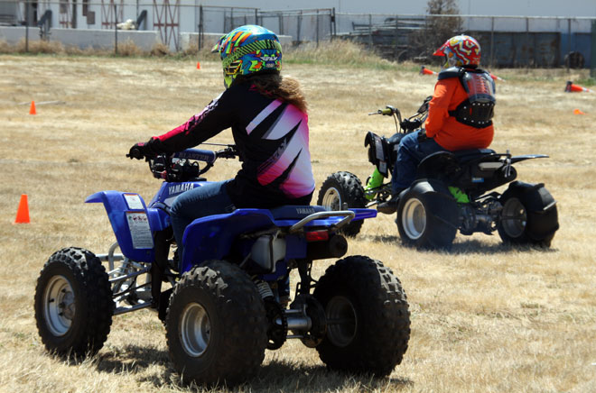 Kids and ATVs