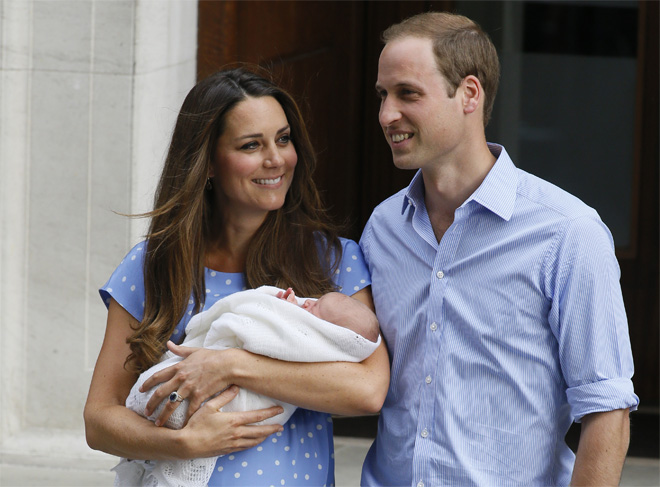 U.S. swaddle-maker swamped after UK prince's photo-op