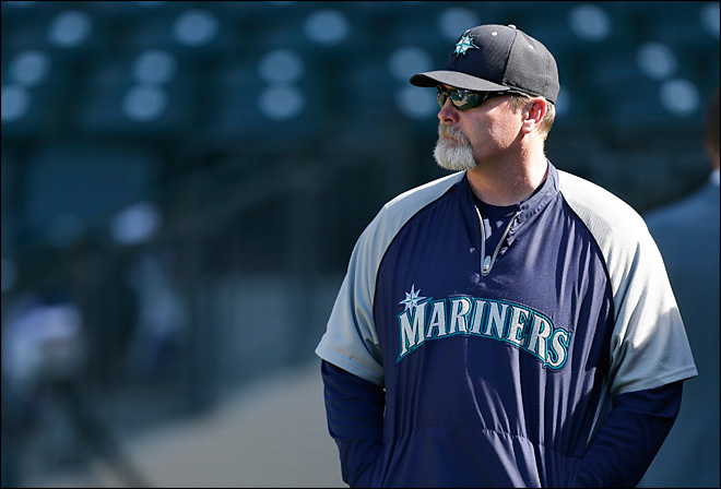 Wedge feels hung out by Mariners about future