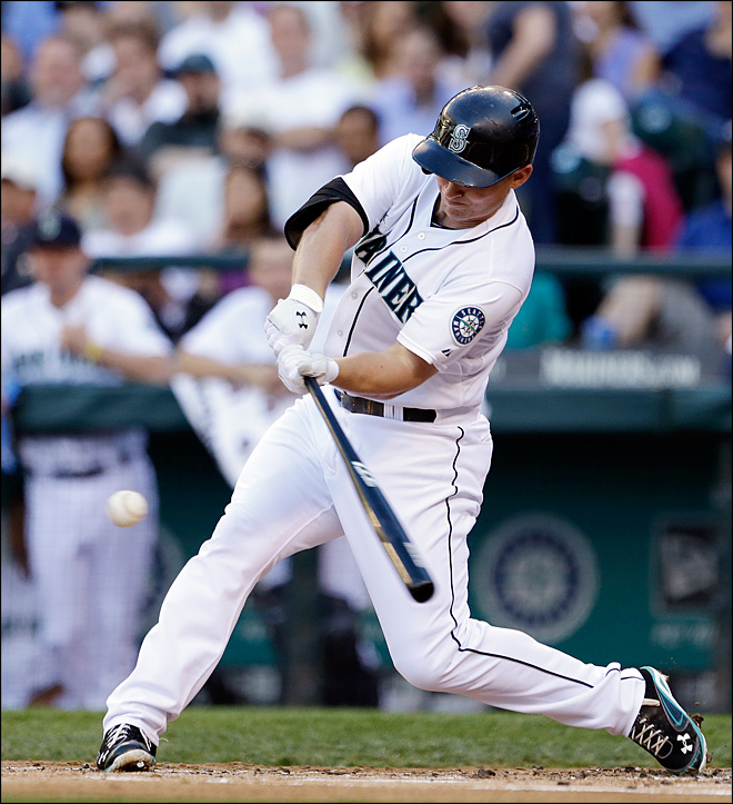 M's streak at 8 after 4-3 win over Indians