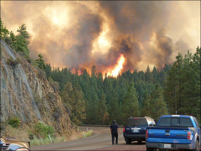 Washington wildfire