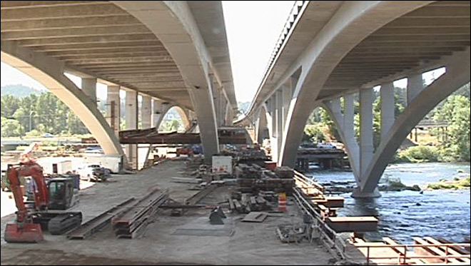 4 years in the making: 'Whilamut Bridge' over Willamette completed