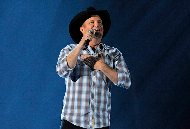 Garth Brooks is a granddaddy