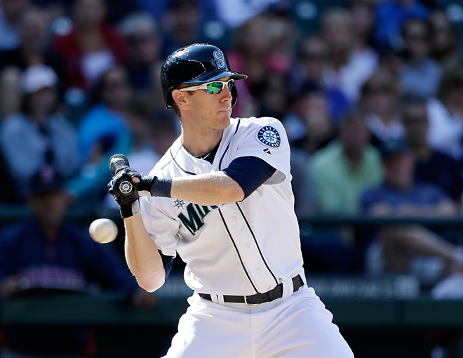 Mariners designate Jason Bay, bring Morse off DL