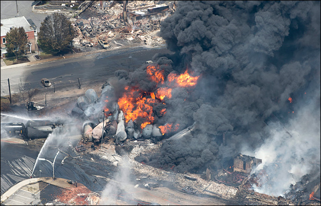 Charges brought in Quebec oil train disaster
