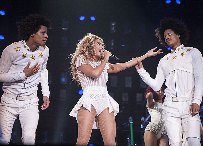 Beyonce - Mrs Carter World Tour - Charlotte