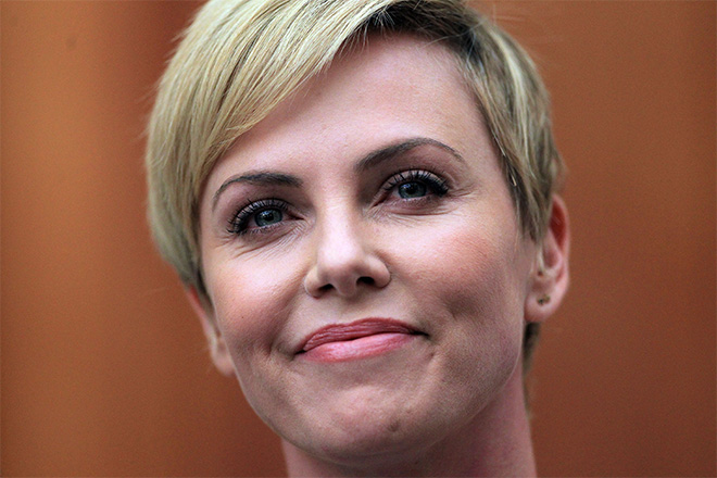 South Africa Jacob Zuma Charlize Theron