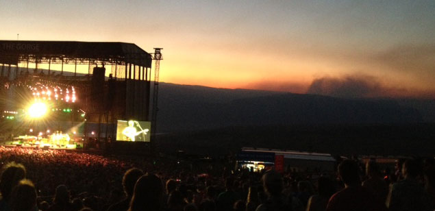 Phish lights up Gorge with 'Fire' before real thing rains ash on fans