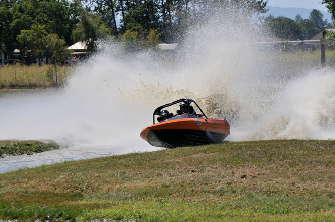 Sprint Boat Crash