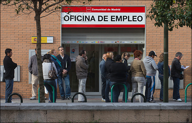 Eurozone jobless down for first time in 2 years