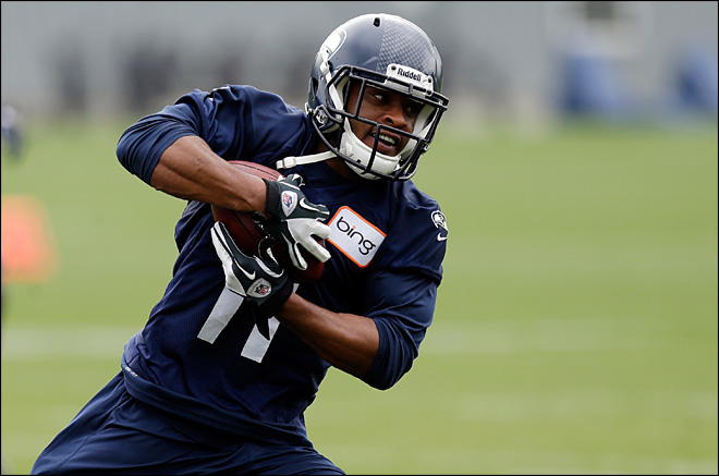 Seahawks announce Harvin's return to practice