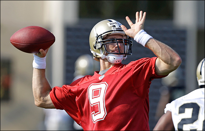 Brees amazed by negative reaction to $3 takeout tip