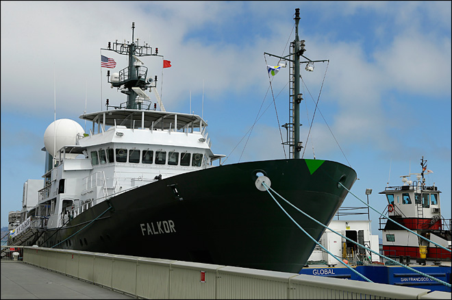 Google-funded sea research vessel sets sail