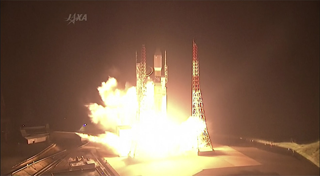 Japan Rocket Launch