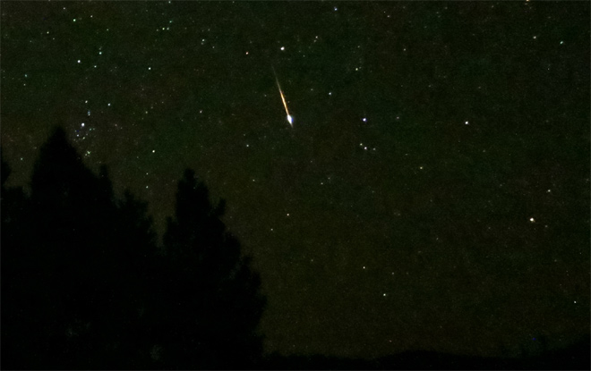 Brand new meteor shower set for Friday night
