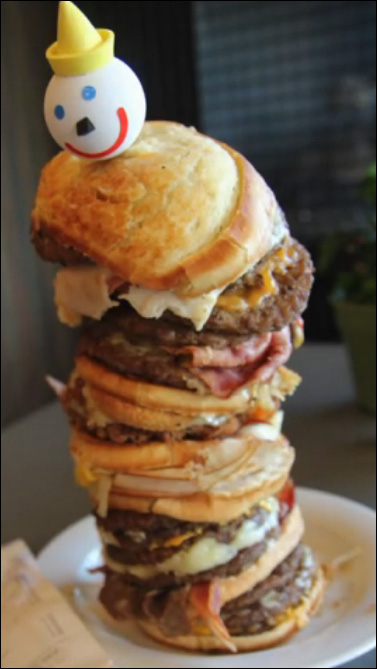 $38 later, man orders most expensive fast food burger ever