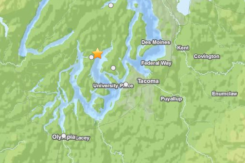 Lakebay Quake Map