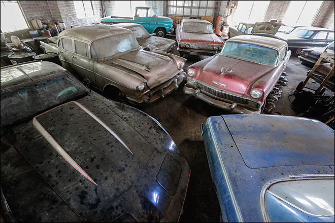 Shuttered car dealership held a very valuable secret
