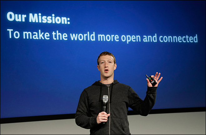 Facebook aims to get 5 billion more people online