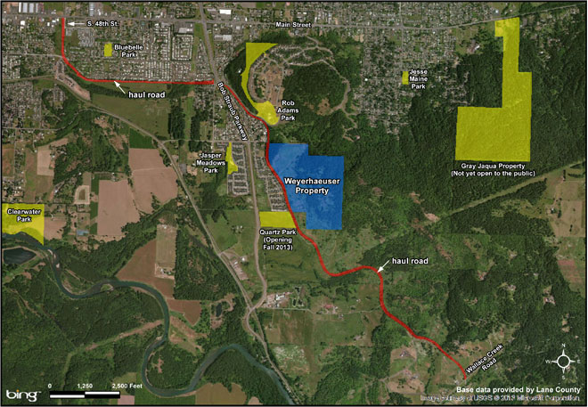 Park district buys woods, log truck road for public recreation