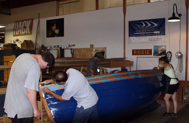 Wind and Oar Boat School