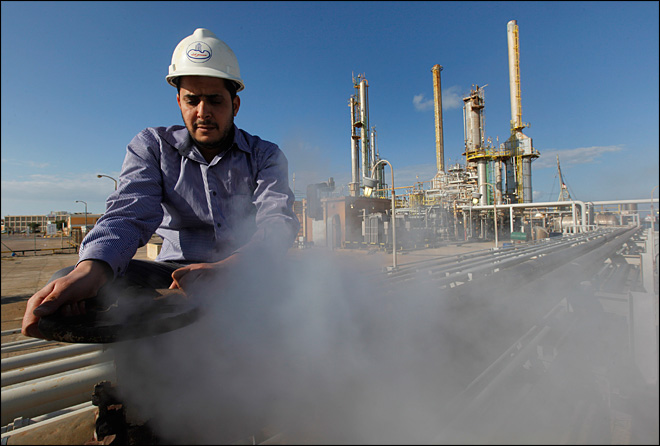 Libya oil exports at 20 percent of pre-war level